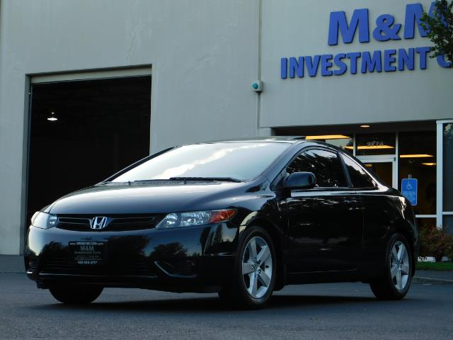 2006 Honda Civic EX / 2Dr Coupe / Sunroof / 5-Speed / Excel Cond - Photo 45 - Portland, OR 97217