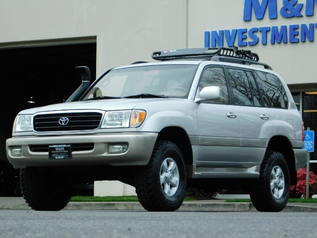 """2000 Toyota Land Cruiser 100 Series 4WD TimngbltDone OME ARB LIFT 33 """"Mud - Photo 1 - Portland, OR 97217"""