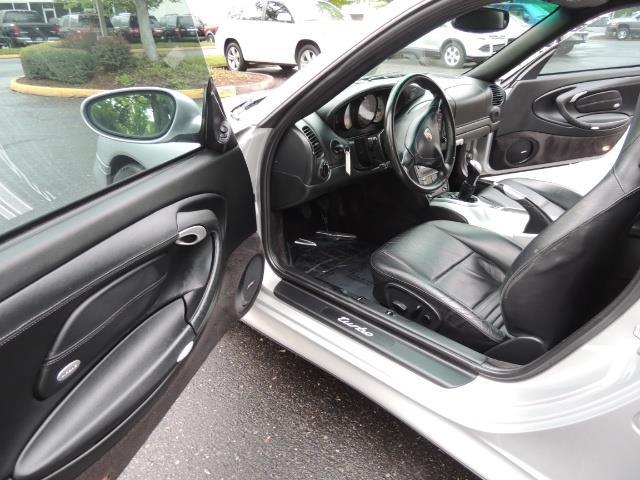 2002 Porsche 911 Turbo / AWD / 6-SPEED / Leather / Heaetd Seats - Photo 13 - Portland, OR 97217