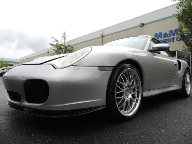 2002 Porsche 911 Turbo / AWD / 6-SPEED / Leather / Heaetd Seats - Photo 9 - Portland, OR 97217