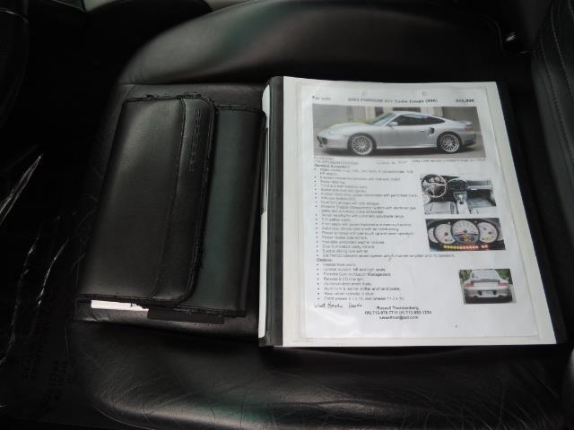 2002 Porsche 911 Turbo / AWD / 6-SPEED / Leather / Heaetd Seats - Photo 36 - Portland, OR 97217