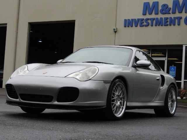 2002 Porsche 911 Turbo / AWD / 6-SPEED / Leather / Heaetd Seats - Photo 49 - Portland, OR 97217