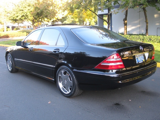 2002 mercedes benz s500 luxury sedan. Black Bedroom Furniture Sets. Home Design Ideas