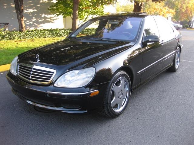 2002 mercedes benz s500 luxury sedan. Black Bedroom Furniture Sets. Home Design Ideas