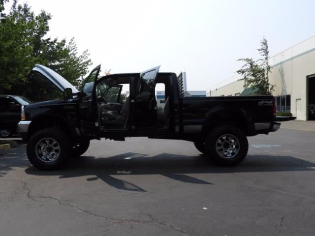 2001 Ford F-250 LARIAT 4X4 CREW CAB / 7.3 DIESEL / 127Km / LIFTED - Photo 21 - Portland, OR 97217