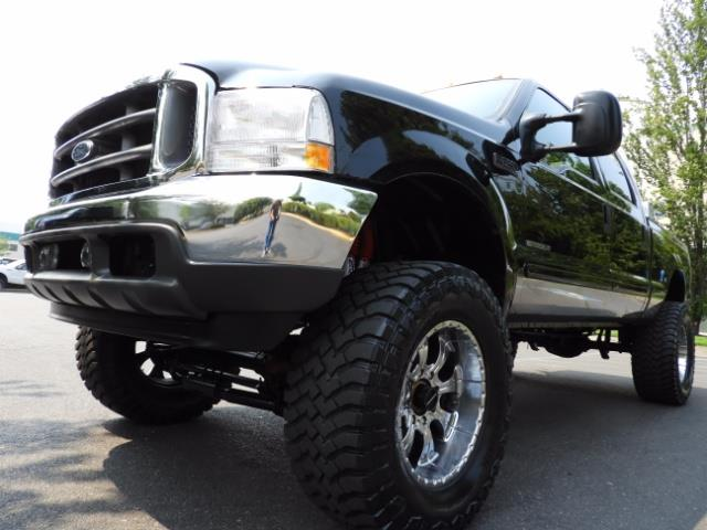 2001 Ford F-250 LARIAT 4X4 CREW CAB / 7.3 DIESEL / 127Km / LIFTED - Photo 10 - Portland, OR 97217