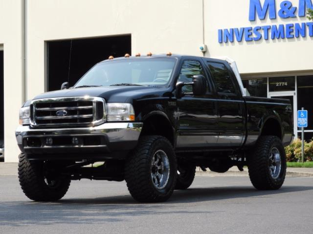 2001 Ford F-250 LARIAT 4X4 CREW CAB / 7.3 DIESEL / 127Km / LIFTED - Photo 1 - Portland, OR 97217