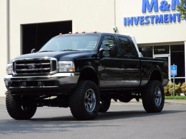 2001 Ford F-250 LARIAT 4X4 CREW CAB / 7.3 DIESEL / 127Km / LIFTED - Photo 44 - Portland, OR 97217