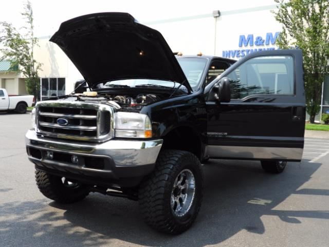2001 Ford F-250 LARIAT 4X4 CREW CAB / 7.3 DIESEL / 127Km / LIFTED - Photo 31 - Portland, OR 97217