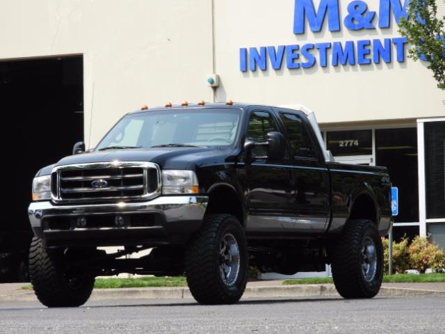2001 Ford F-250 LARIAT 4X4 CREW CAB / 7.3 DIESEL / 127Km / LIFTED - Photo 43 - Portland, OR 97217