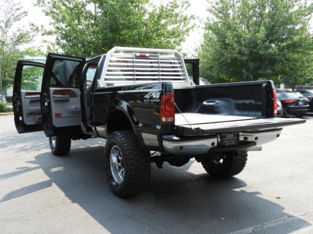 2001 Ford F-250 LARIAT 4X4 CREW CAB / 7.3 DIESEL / 127Km / LIFTED - Photo 25 - Portland, OR 97217