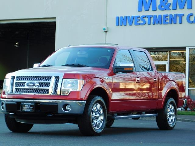 2012 Ford F-150 Lariat Crew Cab 4x4 / Nav / Sunroof / 1-Owner - Photo 47 - Portland, OR 97217