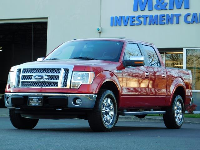 2012 Ford F-150 Lariat Crew Cab 4x4 / Nav / Sunroof / 1-Owner - Photo 46 - Portland, OR 97217