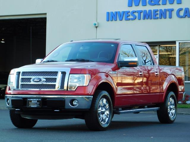 2012 Ford F-150 Lariat Crew Cab 4x4 / Nav / Sunroof / 1-Owner - Photo 1 - Portland, OR 97217