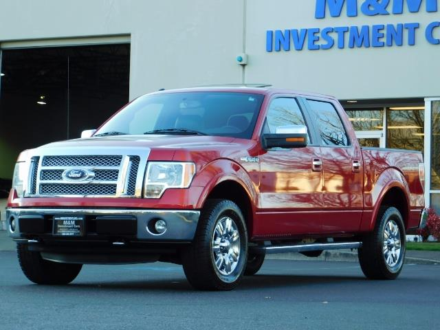 2012 Ford F-150 Lariat Crew Cab 4x4 / Nav / Sunroof / 1-Owner - Photo 48 - Portland, OR 97217