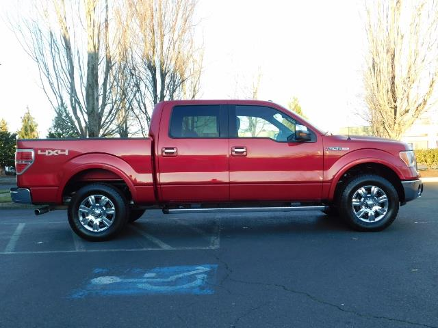 2012 Ford F-150 Lariat Crew Cab 4x4 / Nav / Sunroof / 1-Owner - Photo 4 - Portland, OR 97217