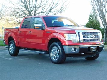 2012 Ford F-150 Lariat Crew Cab 4x4 / Nav / Sunroof / 1-Owner Truck
