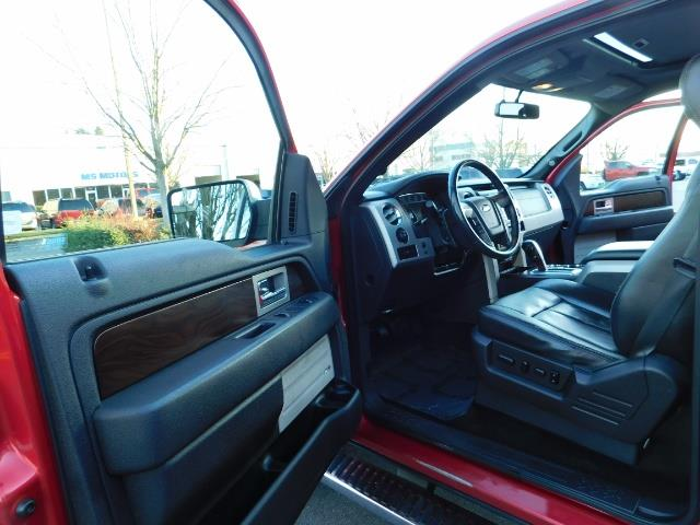 2012 Ford F-150 Lariat Crew Cab 4x4 / Nav / Sunroof / 1-Owner - Photo 13 - Portland, OR 97217