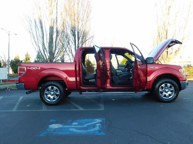 2012 Ford F-150 Lariat Crew Cab 4x4 / Nav / Sunroof / 1-Owner - Photo 29 - Portland, OR 97217