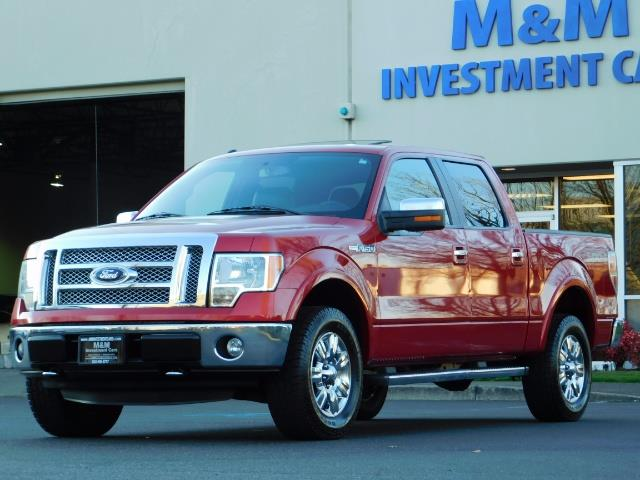 2012 Ford F-150 Lariat Crew Cab 4x4 / Nav / Sunroof / 1-Owner - Photo 49 - Portland, OR 97217