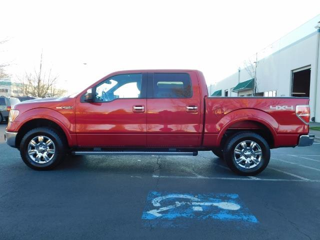 2012 Ford F-150 Lariat Crew Cab 4x4 / Nav / Sunroof / 1-Owner - Photo 3 - Portland, OR 97217