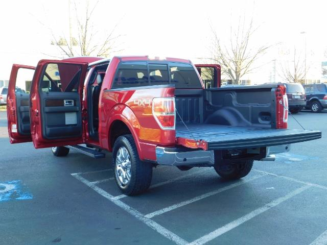 2012 Ford F-150 Lariat Crew Cab 4x4 / Nav / Sunroof / 1-Owner - Photo 30 - Portland, OR 97217