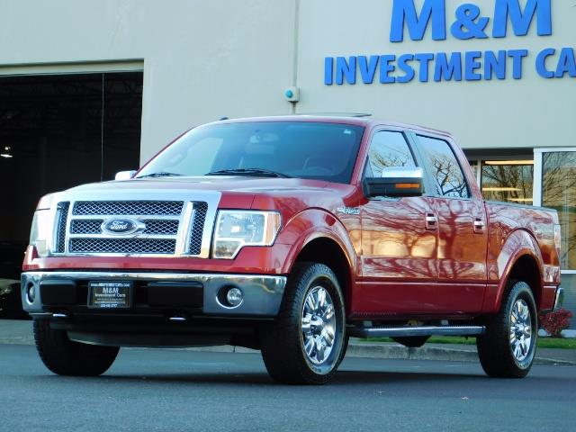 2012 Ford F-150 Lariat Crew Cab 4x4 / Nav / Sunroof / 1-Owner - Photo 45 - Portland, OR 97217