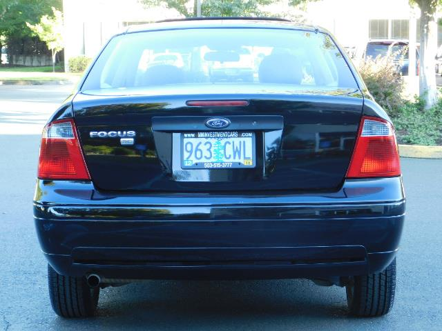 2007 Ford Focus ZX4 SE / 4Dr / Sunroof / New Tires - Photo 6 - Portland, OR 97217