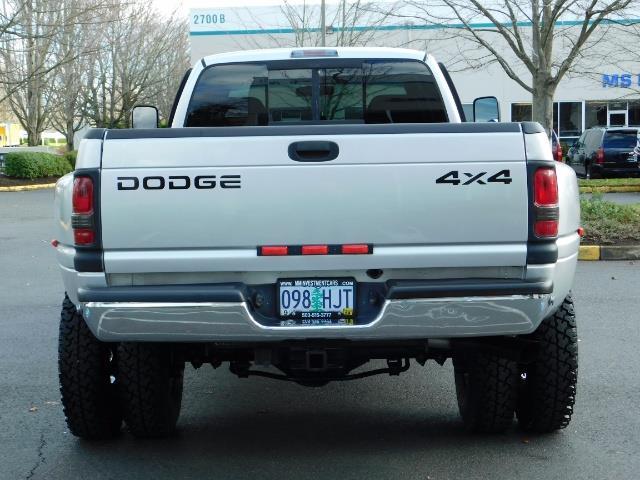 2001 Dodge Ram 3500 4x4 DUALLY / 5.9 CUMMINS DIESEL / 6-SPEED / LIFTED - Photo 6 - Portland, OR 97217