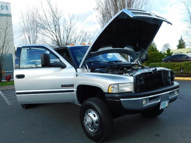 2001 Dodge Ram 3500 4x4 DUALLY / 5.9 CUMMINS DIESEL / 6-SPEED / LIFTED - Photo 28 - Portland, OR 97217