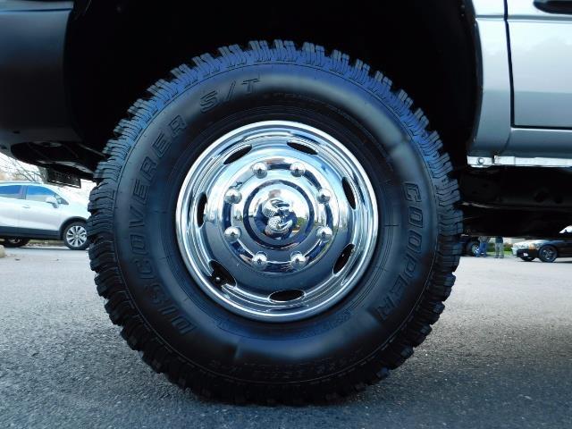 2001 Dodge Ram 3500 4x4 DUALLY / 5.9 CUMMINS DIESEL / 6-SPEED / LIFTED - Photo 37 - Portland, OR 97217