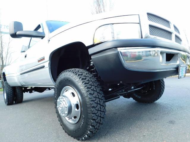 2001 Dodge Ram 3500 4x4 DUALLY / 5.9 CUMMINS DIESEL / 6-SPEED / LIFTED - Photo 10 - Portland, OR 97217