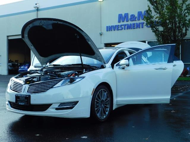 2013 Lincoln MKZ Hybrid Hybrid Sedan / Nav / Parking assist / 1-OWNER - Photo 25 - Portland, OR 97217