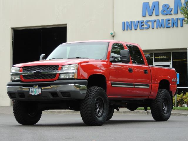 2005 Chevrolet Silverado 1500 LS 4dr Crew Cab / 4X4 / Z71 OFF RD / LIFTED LIFTED - Photo 1 - Portland, OR 97217
