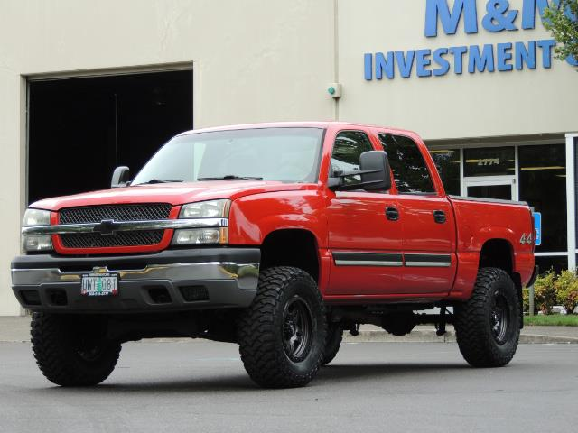 2005 Chevrolet Silverado 1500 LS 4dr Crew Cab / 4X4 / Z71 OFF RD / LIFTED LIFTED - Photo 41 - Portland, OR 97217