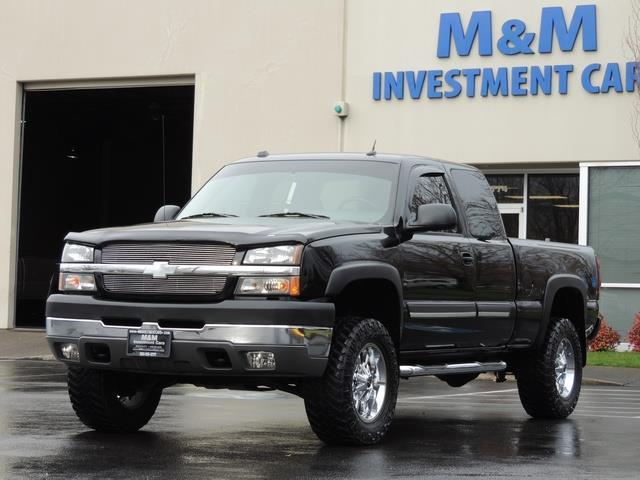 2004 chevrolet silverado 2500 lt heavy duty 4x4 6 0l 8cyl vortec lifted. Black Bedroom Furniture Sets. Home Design Ideas