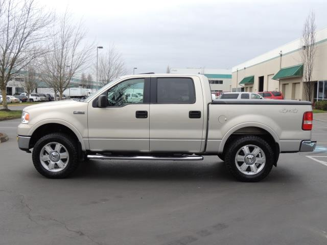 2006 Ford F 150 Lariat 4x4 Super Crew Sunroof Leather Loaded