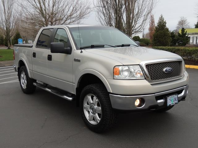2006 Ford F 150 Lariat 4x4 Super Crew Sunroof Leather