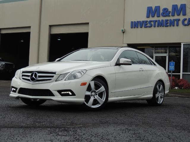 2010 Mercedes Benz E550 COUPE / FULLY LOADED !!   Photo 1   Portland