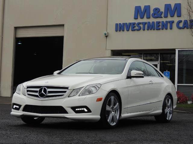 2010 Mercedes-Benz E550 COUPE / FULLY LOADED !! - Photo 42 - Portland, OR 97217