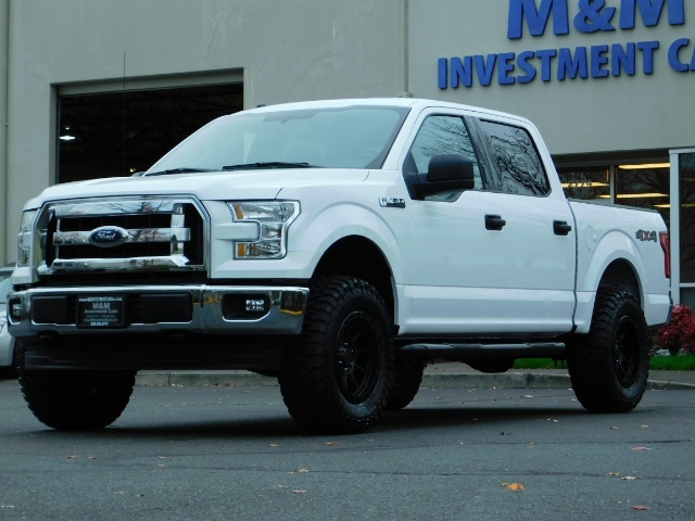 2017 Ford F150 Lifted >> 2017 Ford F 150 Xlt Crew Cab 4x4 Lifted New Wheels Tires