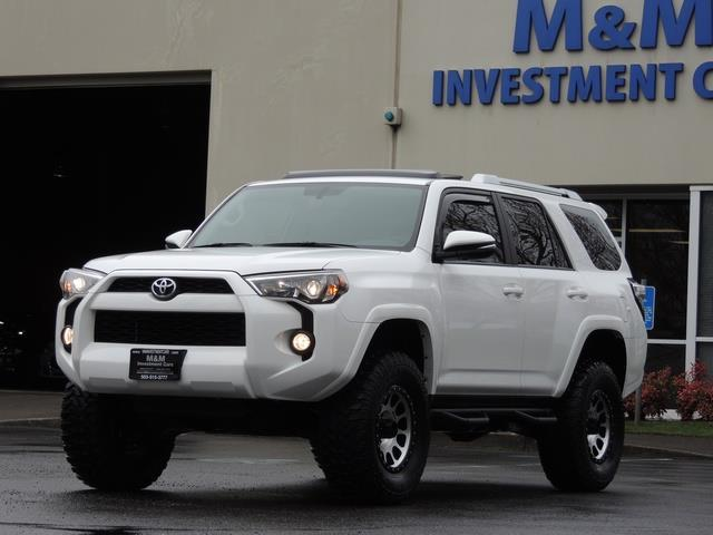 2016 Toyota 4runner Trail Premium 4x4 Leather Navigation Lifted Photo 1