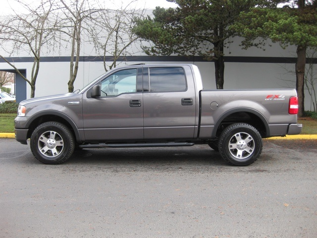 2004 ford f 150 fx4 new body style leather moonroof. Black Bedroom Furniture Sets. Home Design Ideas