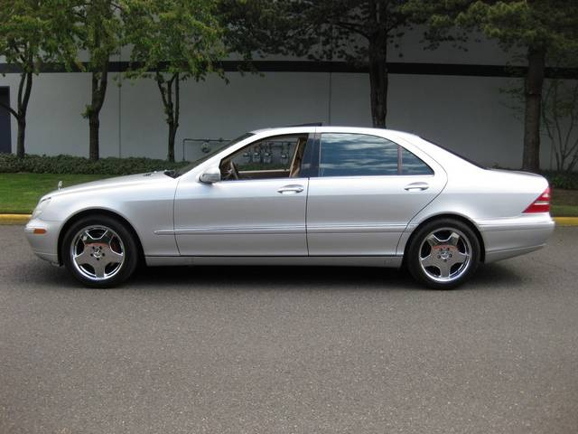 2001 Mercedes Benz S500   Photo 2   Portland, OR 97217