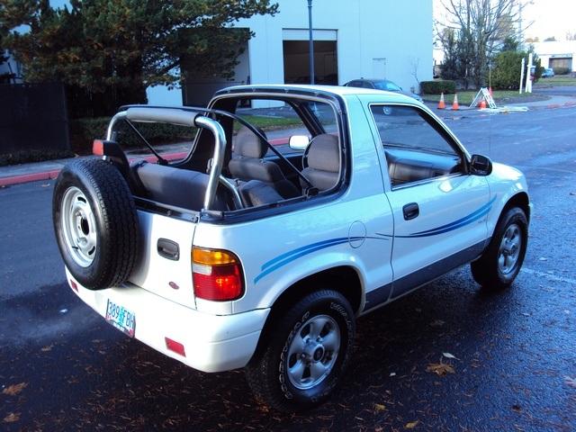 1999 Kia Sportage Convertible 5 Spd 4wd New Top Photo