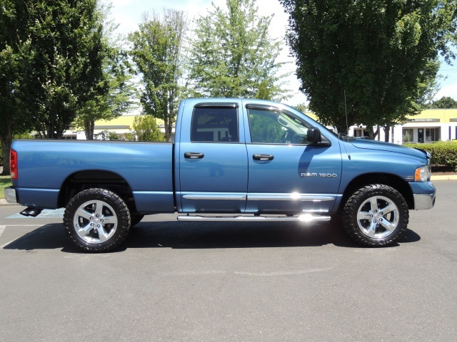 2004 dodge ram 1500 laramie crew cab 4x4 leather hemi. Black Bedroom Furniture Sets. Home Design Ideas