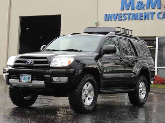 2004 toyota 4runner sr5 6cyl 4wd 2 owner lifted new 33. Black Bedroom Furniture Sets. Home Design Ideas