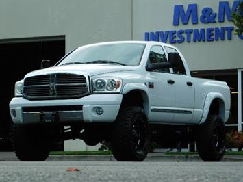 2007 Dodge Ram 2500 LARAMIE / 4X4 / HO 5.9 L CUMMINS DIESEL / LIFTED ! Truck