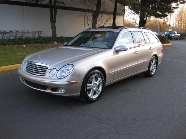 2004 mercedes benz e500 4matic wagon awd navigation 3rd for Mercedes benz 2004 e500