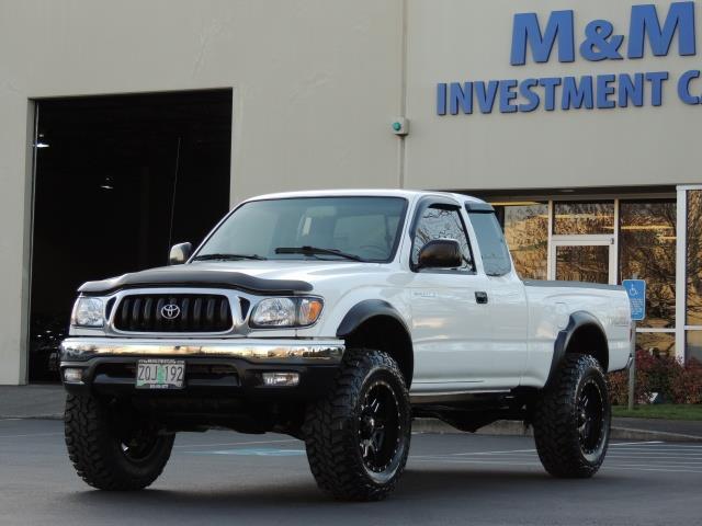 2003 toyota tacoma v6 4x4 / 5-speed manual / xd-wheels / lifted!!!